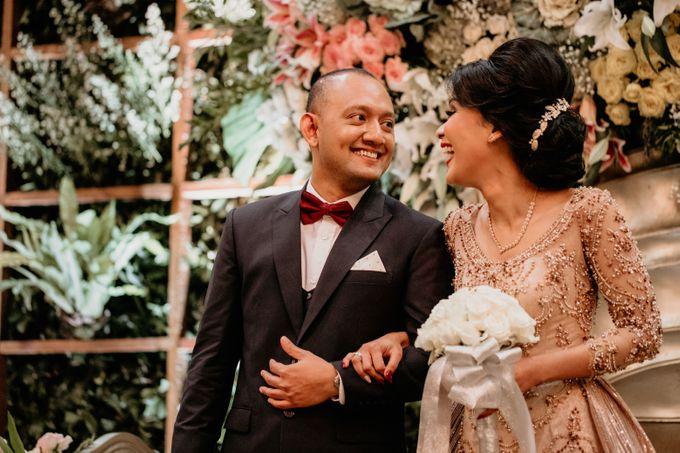 Wedding Reception at Pondok Indah Golf by Yoga Septa Make Up Artist - 019