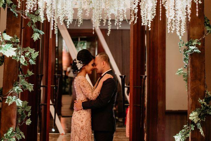 Wedding Reception at Pondok Indah Golf by Yoga Septa Make Up Artist - 024