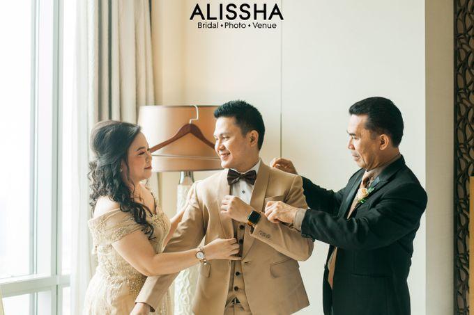 Wedding Day Naya-Allen at West In Function Room by Alissha Bride - 004