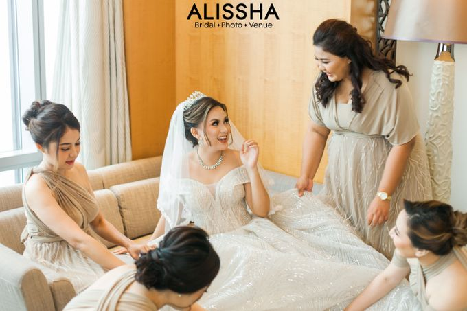 Wedding Day Naya-Allen at West In Function Room by Alissha Bride - 007