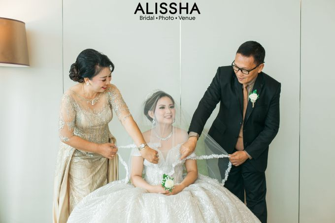 Wedding Day Naya-Allen at West In Function Room by Alissha Bride - 009