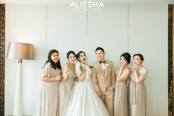 Wedding Day Naya-Allen at West In Function Room by Alissha Bride - 016