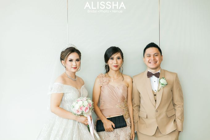 Wedding Day Naya-Allen at West In Function Room by Alissha Bride - 018
