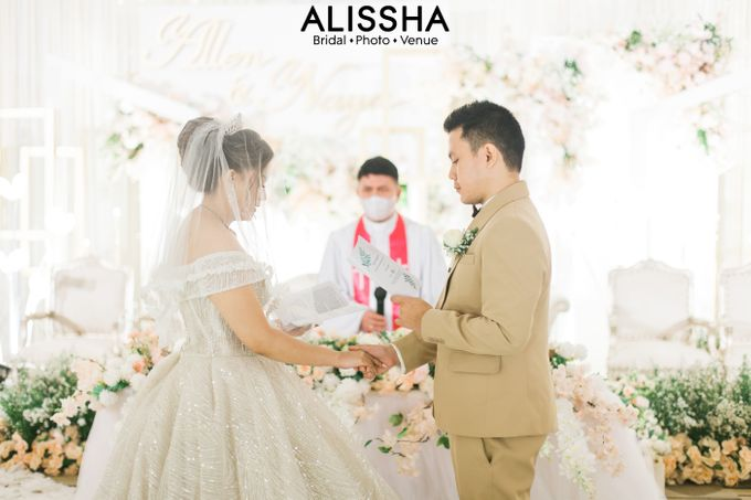 Wedding Day Naya-Allen at West In Function Room by Alissha Bride - 021