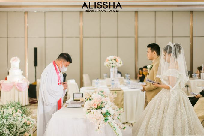 Wedding Day Naya-Allen at West In Function Room by Alissha Bride - 022