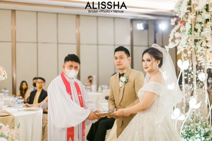 Wedding Day Naya-Allen at West In Function Room by Alissha Bride - 024