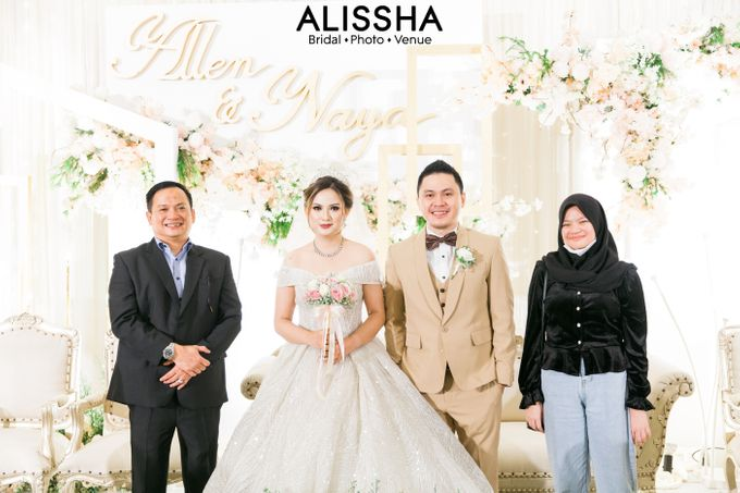 Wedding Day Naya-Allen at West In Function Room by Alissha Bride - 026