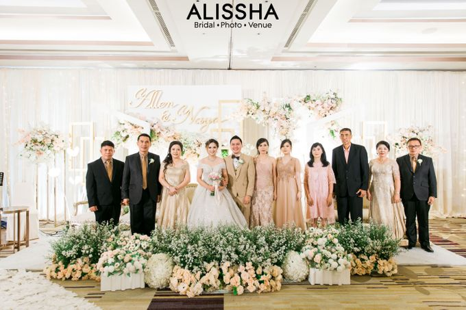 Wedding Day Naya-Allen at West In Function Room by Alissha Bride - 027