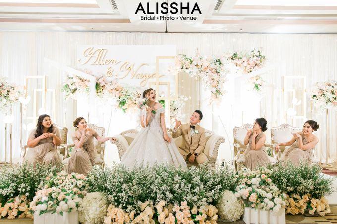 Wedding Day Naya-Allen at West In Function Room by Alissha Bride - 028