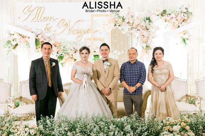 Wedding Day Naya-Allen at West In Function Room by Alissha Bride - 029