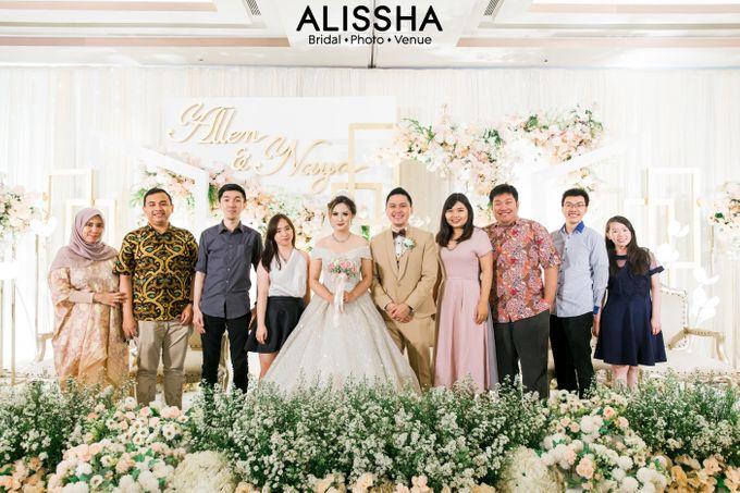 Wedding Day Naya-Allen at West In Function Room by Alissha Bride - 030