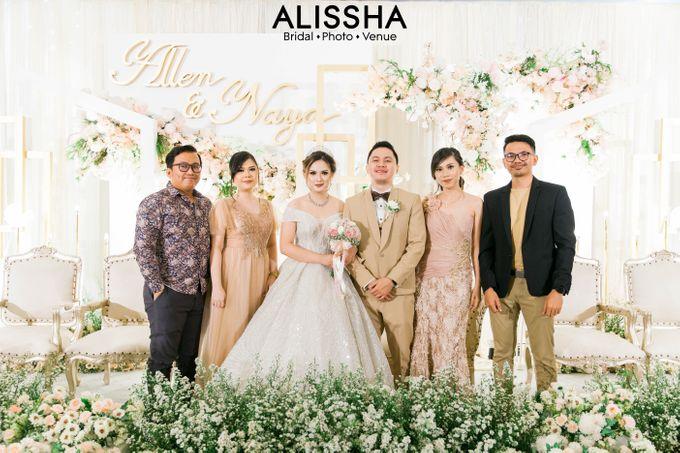 Wedding Day Naya-Allen at West In Function Room by Alissha Bride - 031