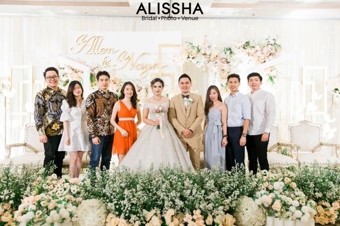 Wedding Day Naya-Allen at West In Function Room by Alissha Bride - 032