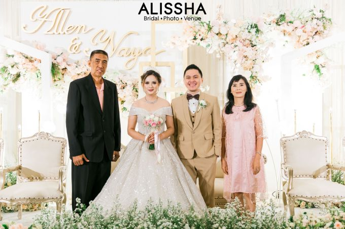 Wedding Day Naya-Allen at West In Function Room by Alissha Bride - 033