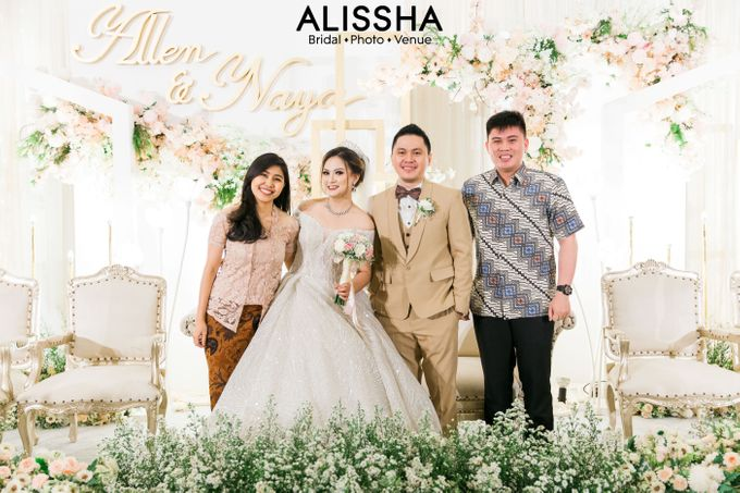 Wedding Day Naya-Allen at West In Function Room by Alissha Bride - 035