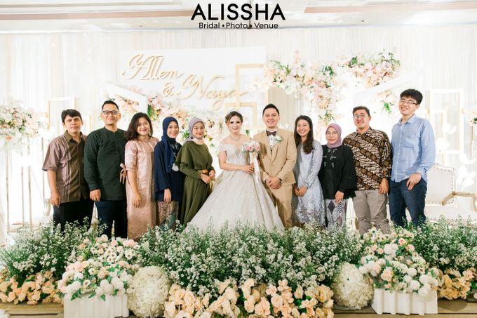 Wedding Day Naya-Allen at West In Function Room by Alissha Bride - 036