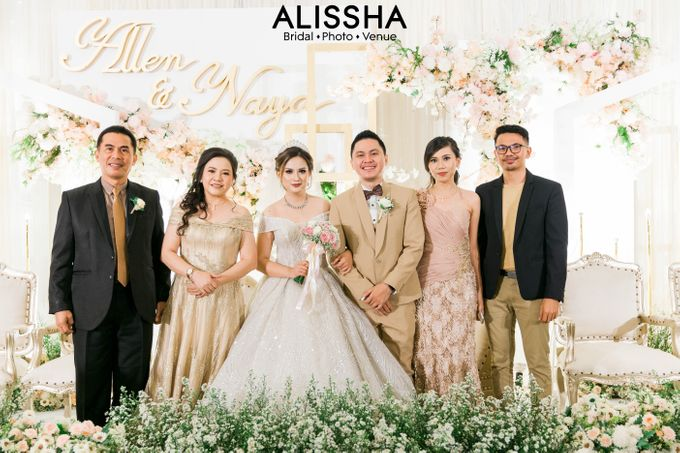 Wedding Day Naya-Allen at West In Function Room by Alissha Bride - 038