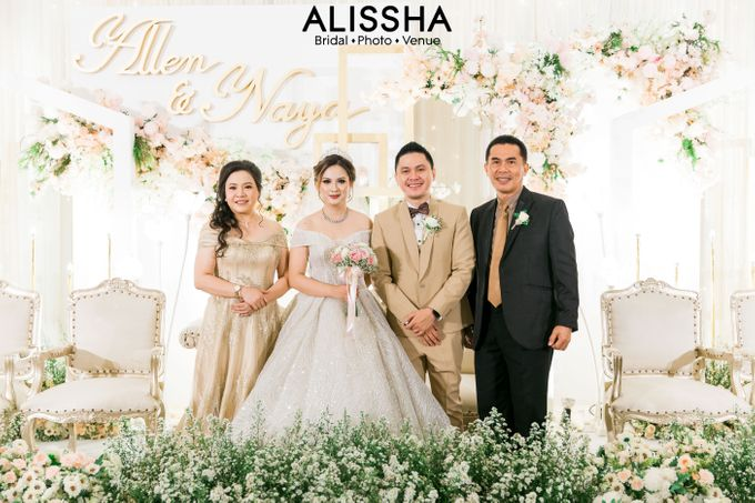 Wedding Day Naya-Allen at West In Function Room by Alissha Bride - 039