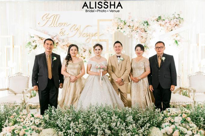 Wedding Day Naya-Allen at West In Function Room by Alissha Bride - 040
