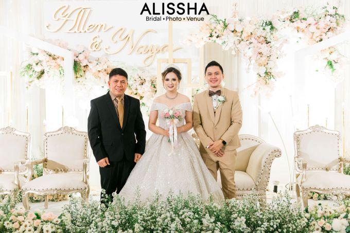 Wedding Day Naya-Allen at West In Function Room by Alissha Bride - 042