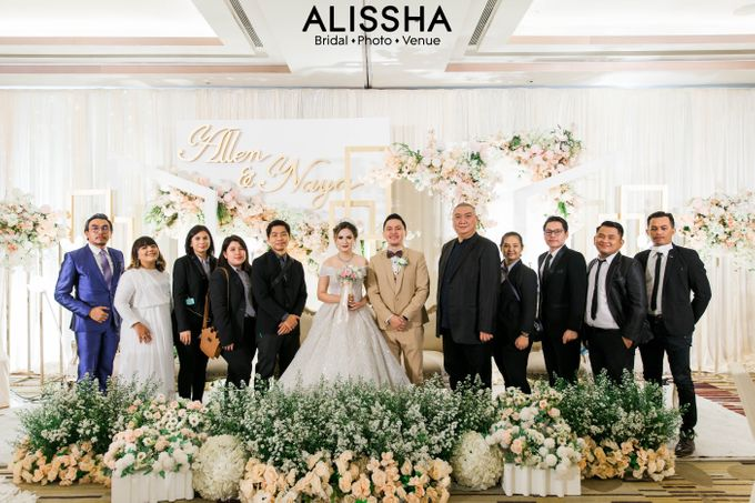Wedding Day Naya-Allen at West In Function Room by Alissha Bride - 043