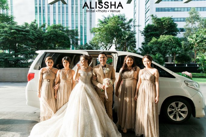 Wedding Day Naya-Allen at West In Function Room by Alissha Bride - 048