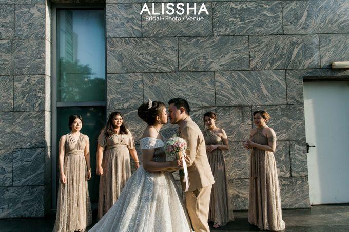 Wedding Day Naya-Allen at West In Function Room by Alissha Bride - 049