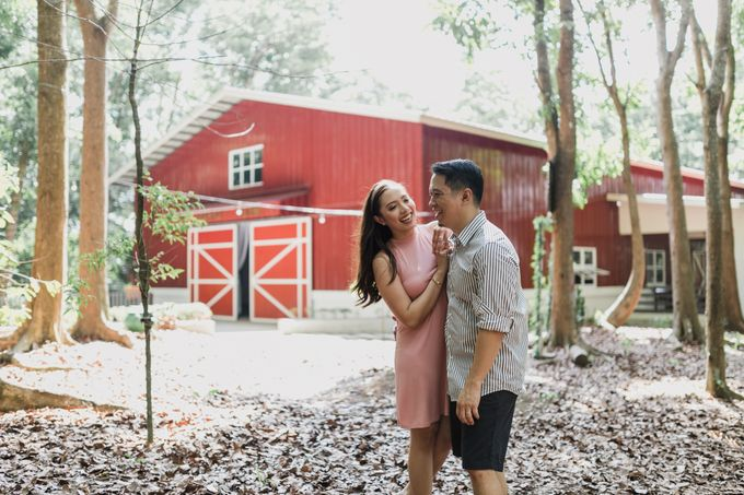 Oliver & Sally - The Forest Barn Engagement Session by Mot Rasay Photography - 017