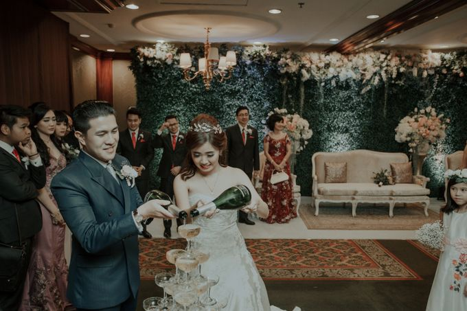 The Wedding of Salvian & Feby by MERCANTILE PENTHOUSE WEDDING - 005