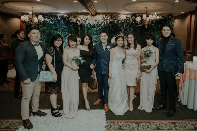 The Wedding of Salvian & Feby by MERCANTILE PENTHOUSE WEDDING - 006