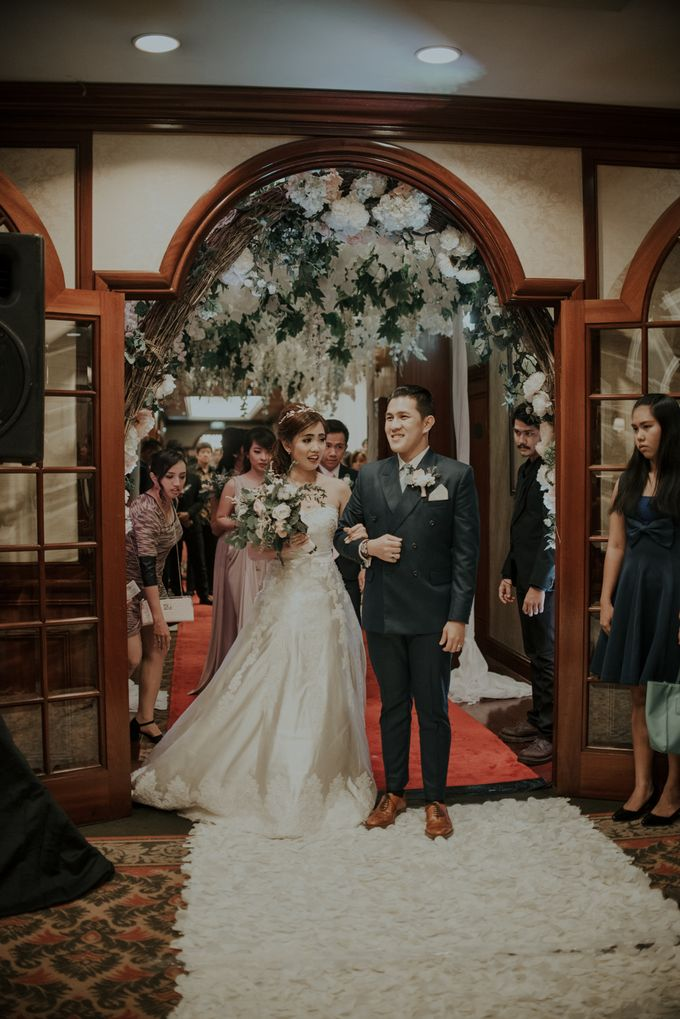 The Wedding of Salvian & Feby by MERCANTILE PENTHOUSE WEDDING - 010