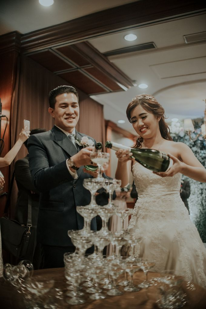 The Wedding of Salvian & Feby by MERCANTILE PENTHOUSE WEDDING - 014