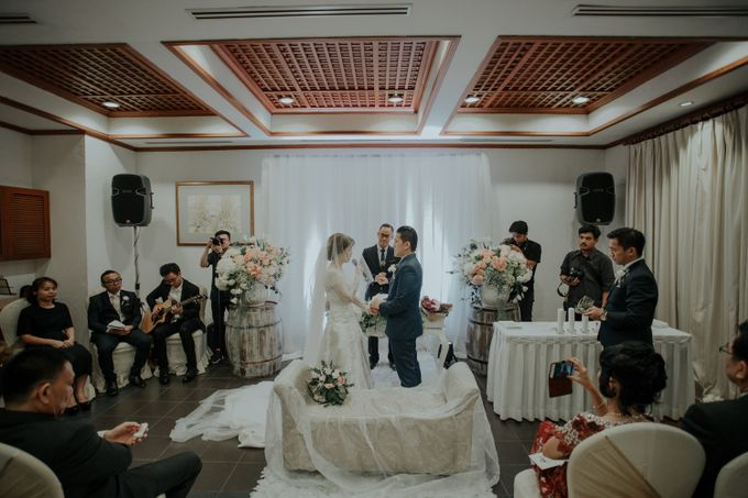 The Wedding of Salvian & Feby by MERCANTILE PENTHOUSE WEDDING - 001