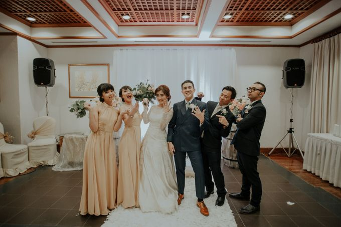 The Wedding of Salvian & Feby by MERCANTILE PENTHOUSE WEDDING - 002
