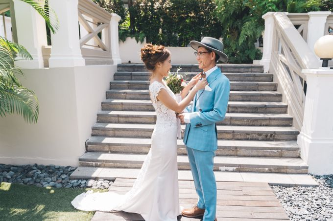 [Video] Hotel Fort Canning Wedding by Darren and Jade Photography - 025