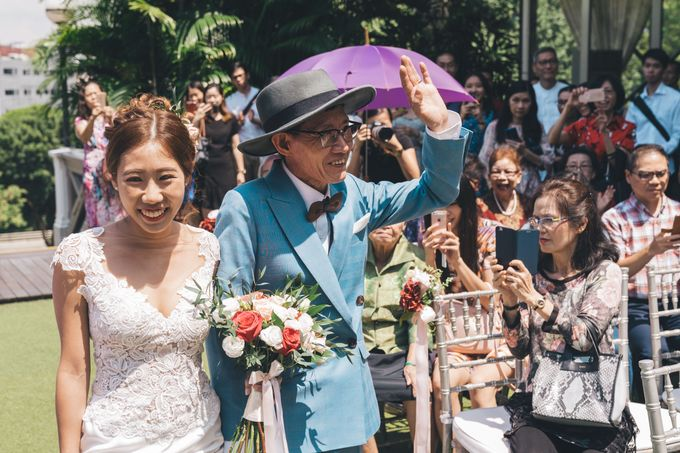 [Video] Hotel Fort Canning Wedding by Darren and Jade Photography - 027