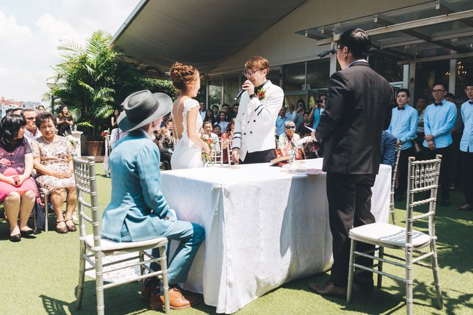 [Video] Hotel Fort Canning Wedding by Darren and Jade Photography - 029