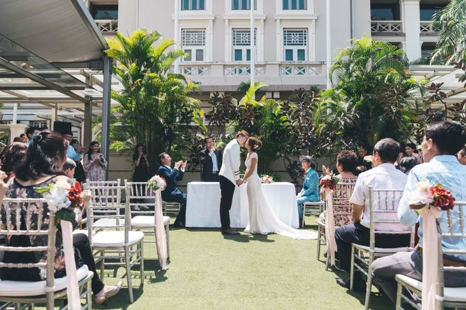 [Video] Hotel Fort Canning Wedding by Darren and Jade Photography - 036