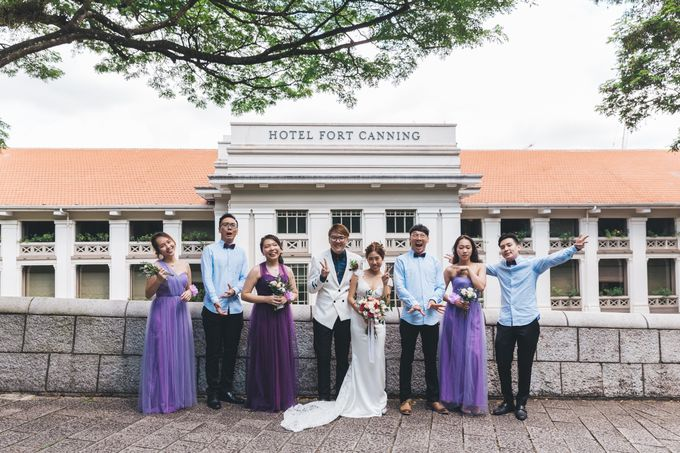 [Video] Hotel Fort Canning Wedding by Darren and Jade Photography - 016