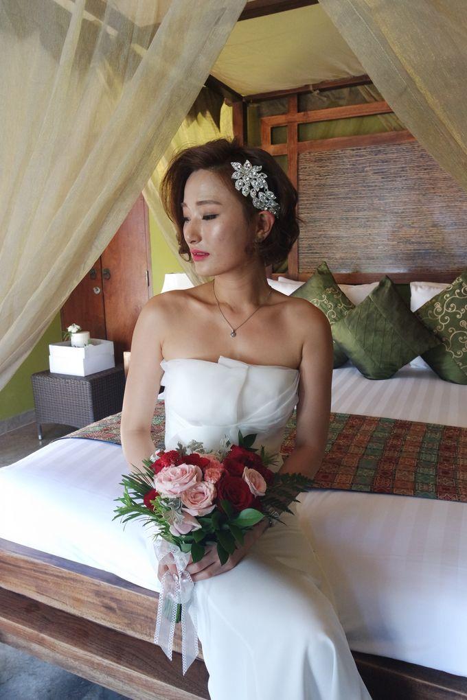 Korean Wedding Make Up by mikUP - 005