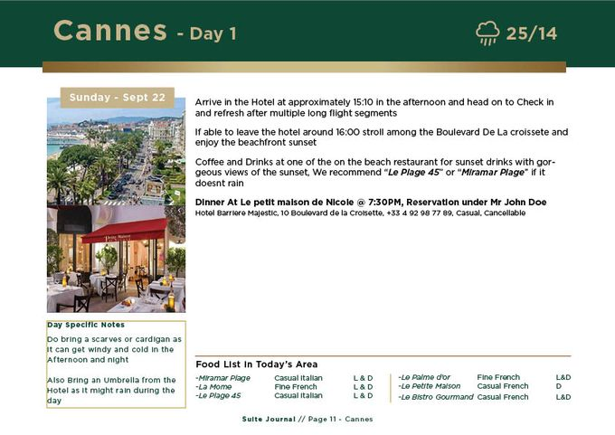 Sample Itinerary by Suite Journal - 011