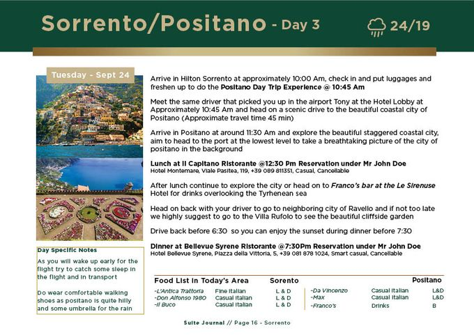Sample Itinerary by Suite Journal - 016