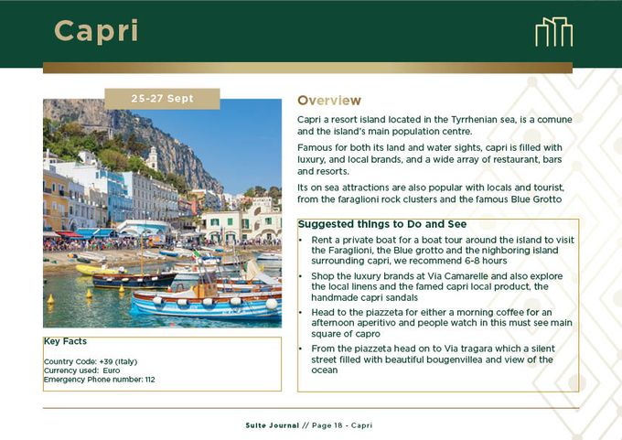 Sample Itinerary by Suite Journal - 018