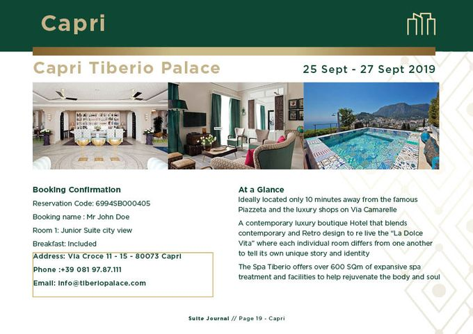 Sample Itinerary by Suite Journal - 019