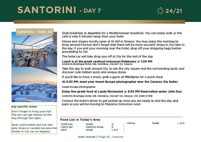 Sample Itinerary by Suite Journal - 026