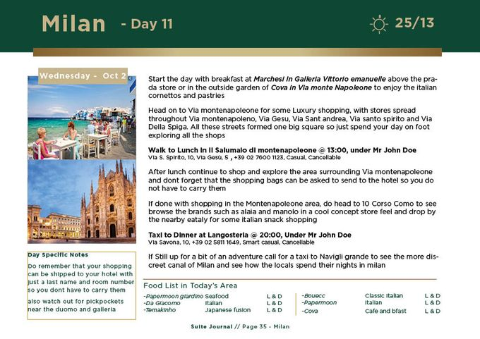 Sample Itinerary by Suite Journal - 036