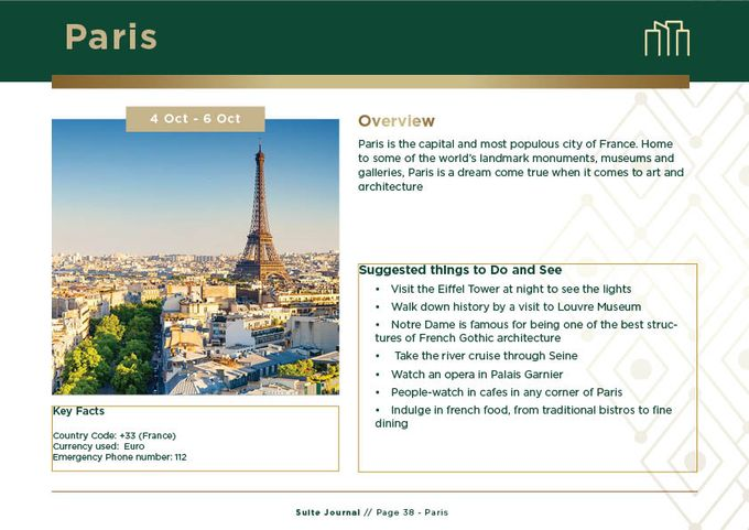 Sample Itinerary by Suite Journal - 039