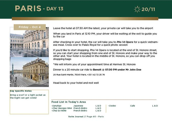 Sample Itinerary by Suite Journal - 041