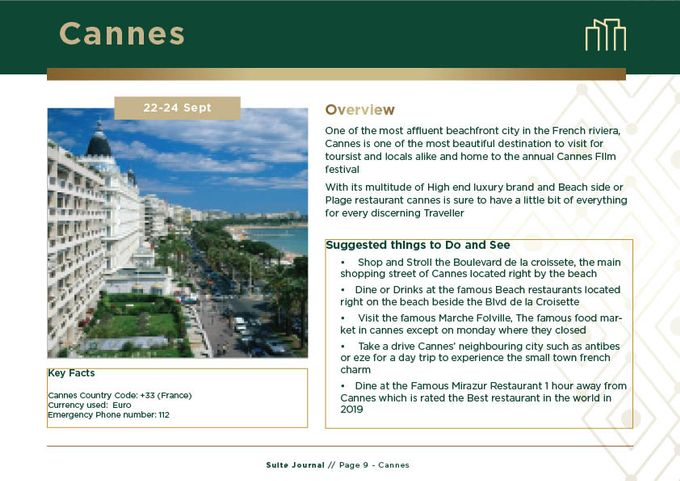 Sample Itinerary by Suite Journal - 009