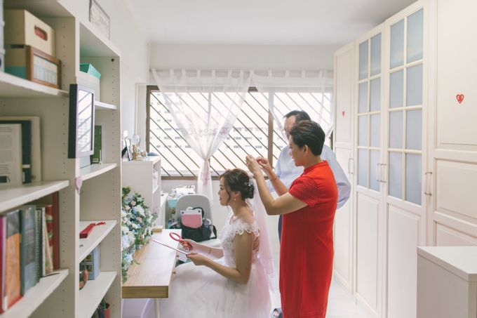 Wedding Day - Samuel and Hazel by TangYong Hair & Makeup - 010